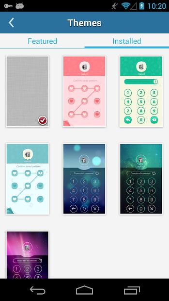AppLock Theme Space screenshot 2