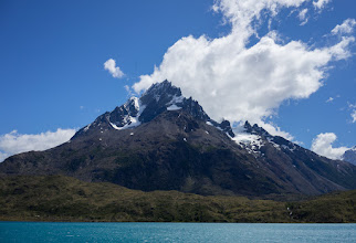 Photo: I did a 2-day trek that began with a catamaran shuttle from Pudeto Landing to Refugio Paine Grande