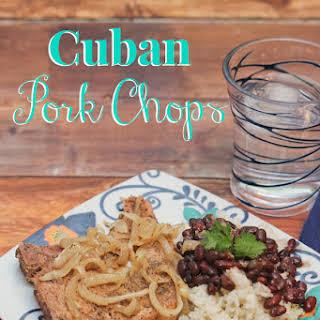 Cuban Pork Chops.