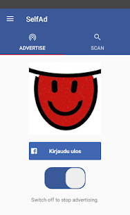 SelfAd - Advertise your profile picture wirelessly- screenshot thumbnail