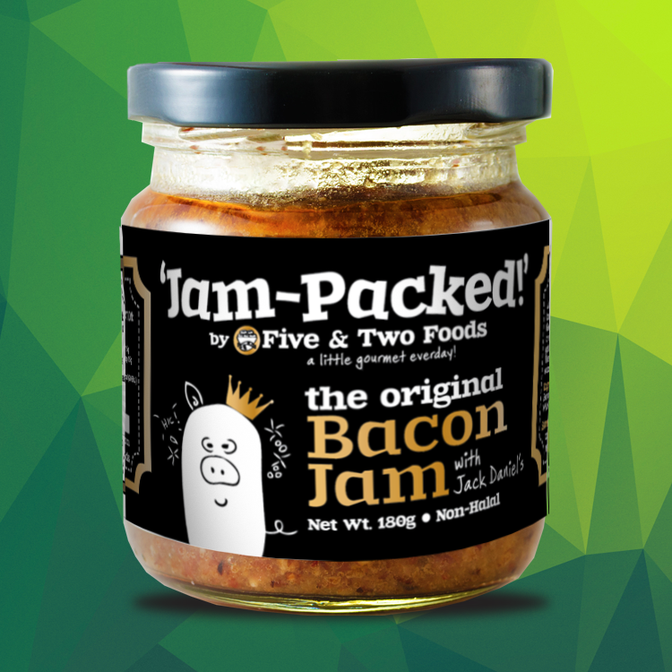 Jam-Packed's Bacon Jam with JACK DANIEL'S by Five & Two Fine Foods
