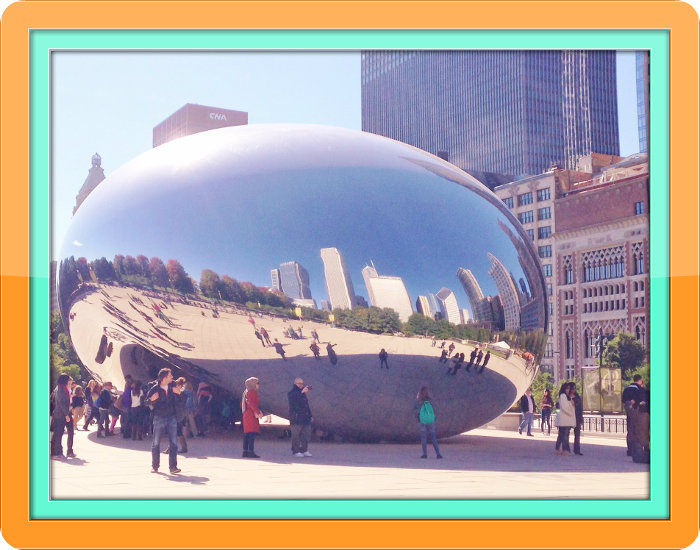 Almost Wordless Wednesday - Chicago in October