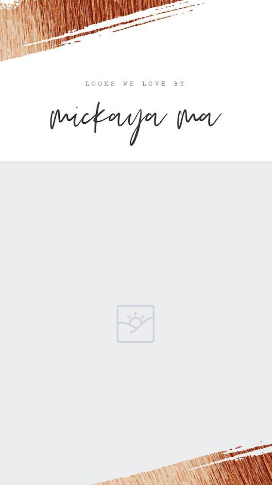 Mikaya Ma Looks - Facebook Story Template