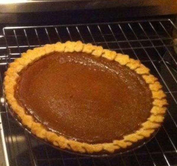 Pumpkin Pie With Grand Marnier Raisins Recipe