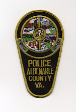 Photo: Albemarle County Police, Summer Uniform