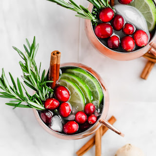 Cranberry Smash Moscow Mule.
