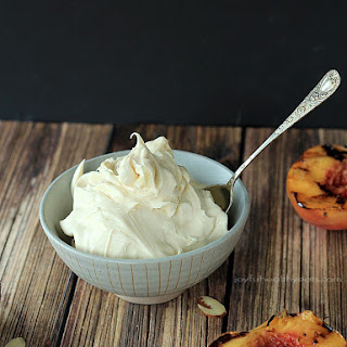 Grilled Peaches with Maple Honey Mascarpone Cheese + KitchenAid Mixer Giveaway Recipe