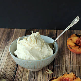 Grilled Peaches with Maple Honey Mascarpone Cheese + KitchenAid Mixer Giveaway.