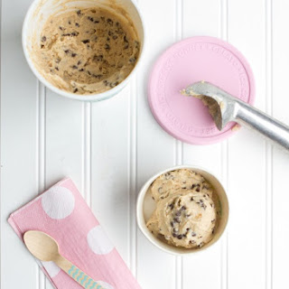 Homemade Cookie Dough Frozen Yogurt