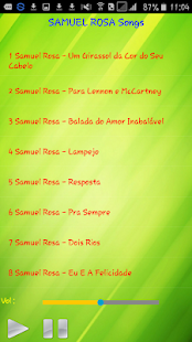 All song Samuel Rosa - náhled