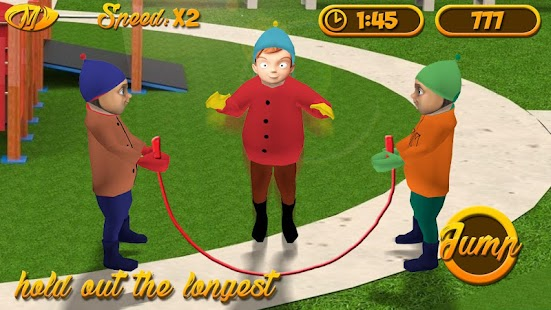 Fingers Jump Rope Simulator - náhled