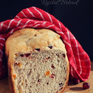 Cranberry Apricot Rustic Bread