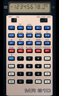 Calculator MR 610- screenshot thumbnail