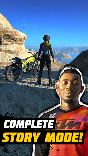 Dirt Bike Unchained apkpoly screenshots 5
