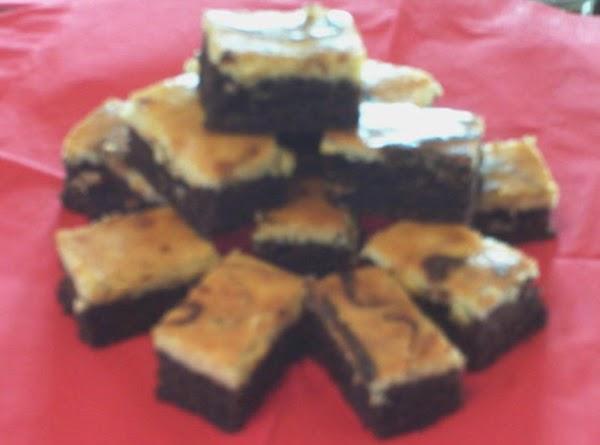 Orange Chocolate Cheesecake Brownies Recipe