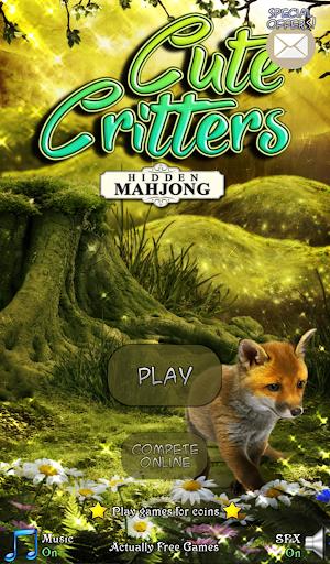 Hidden Mahjong: Cute Critters