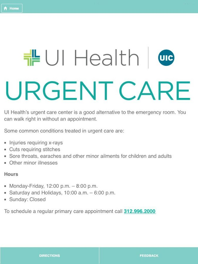 Ui Health Uic 3 0 0 Android Apps On Google Play