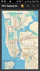 New York Subway Map (NYC) screenshot 0