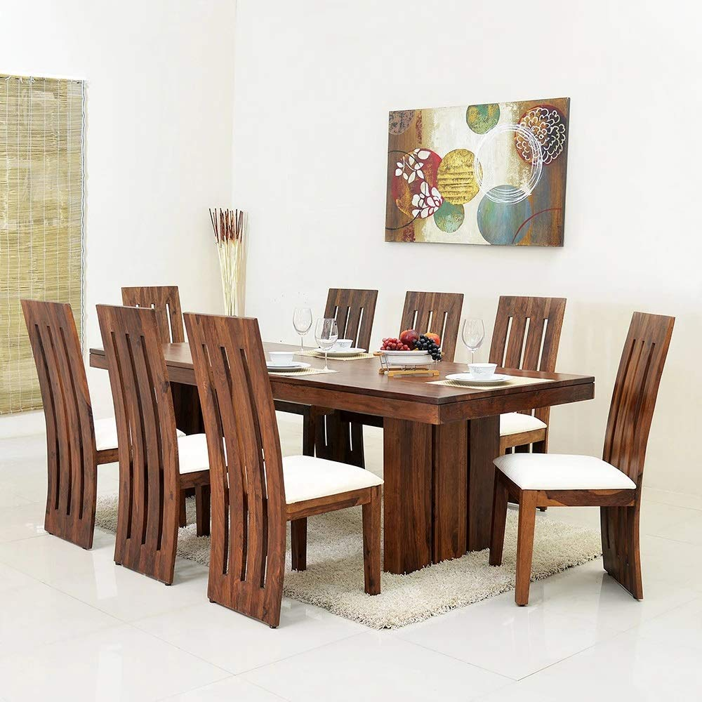 Style Well's Eight Seater Dining Table Set