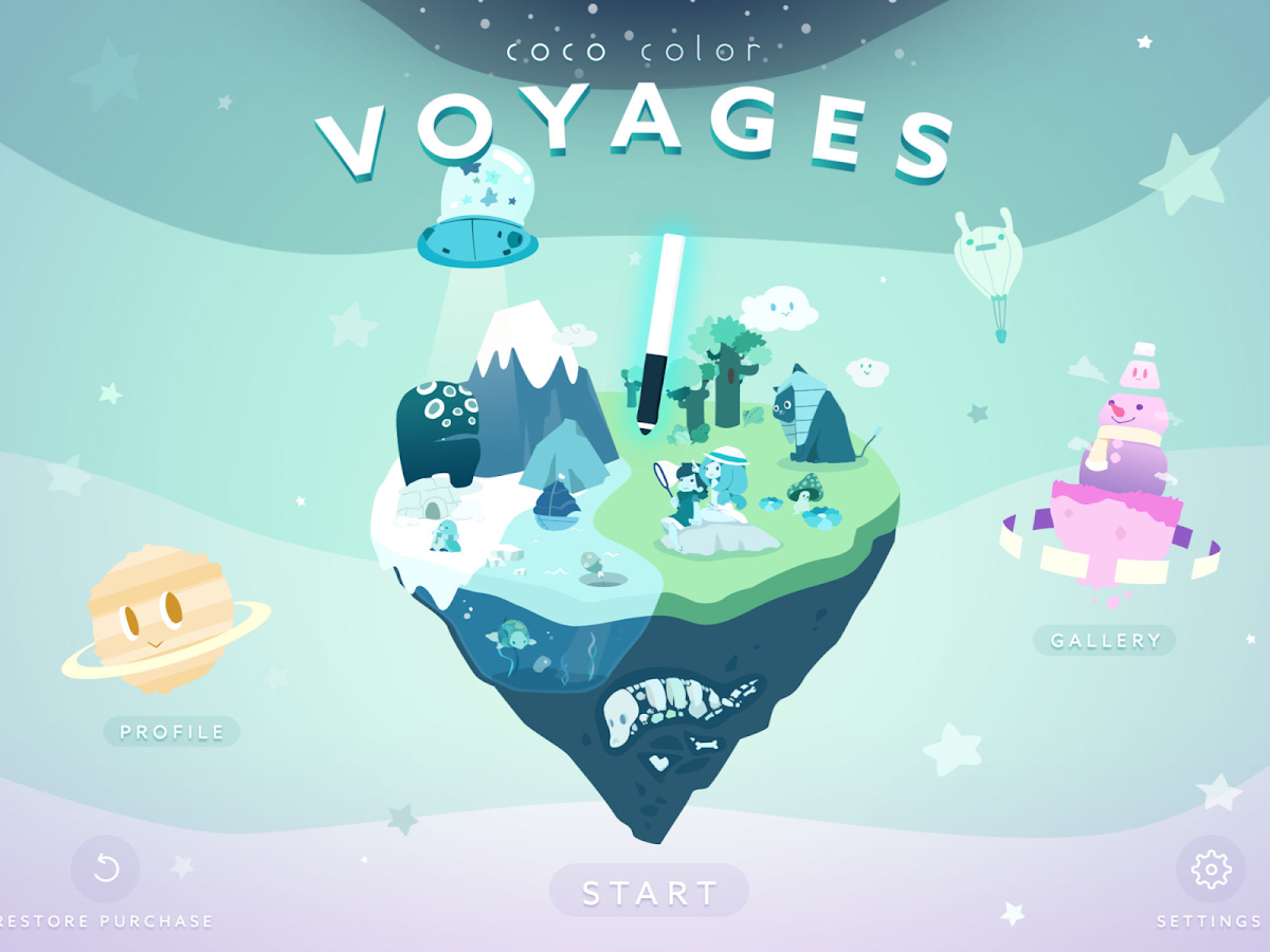 Coco Color Voyages- screenshot