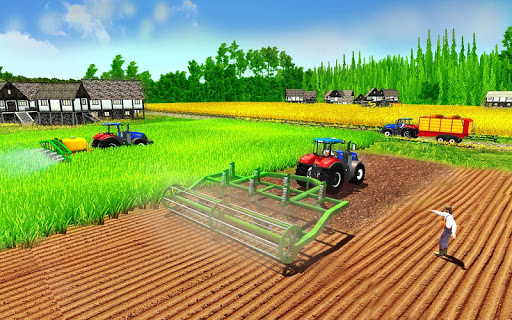 mod Grand Tractor Forage Farming Simulator 2018 3D 1.0 screenshots 4