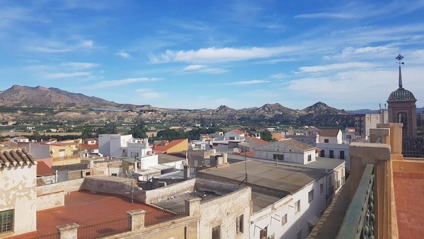 Vista del municipio de Cuevas del Almanzora.
