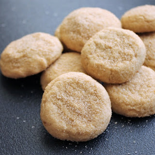 Soft Sugared Maple Cookies.