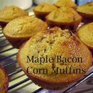 Maple-Bacon Corn Muffins