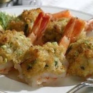 Baked Stuffed Shrimp with Clams.