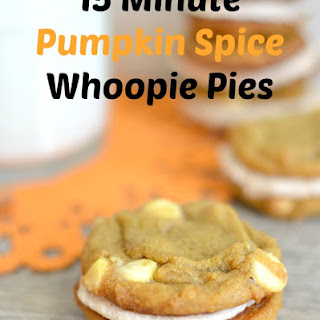 Pumpkin Spice Whoopie Pies with Cinnamon Buttercream Frosting