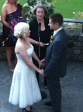 Photo: Wedding Ceremony Officiant Minister - Mary's Falls Park - Greenville, SC - http://WeddingWoman.net