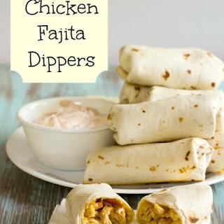 Baked Chicken Fajita Roll-Ups