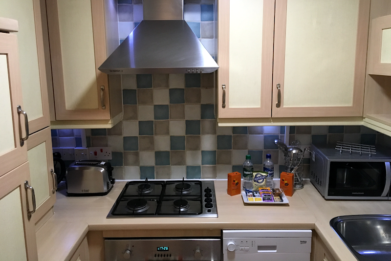 Fully equipped kitchen at Stanshawe Court