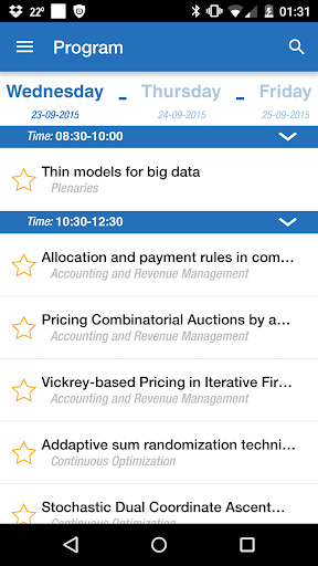 OR2015 Vienna Conference App