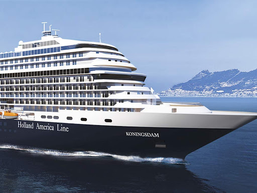 ms-Koningsdam-rendering - Holland America Line's Koningsdam carries 2,650 passengers on itineraries in the Mediterranean and Caribbean.