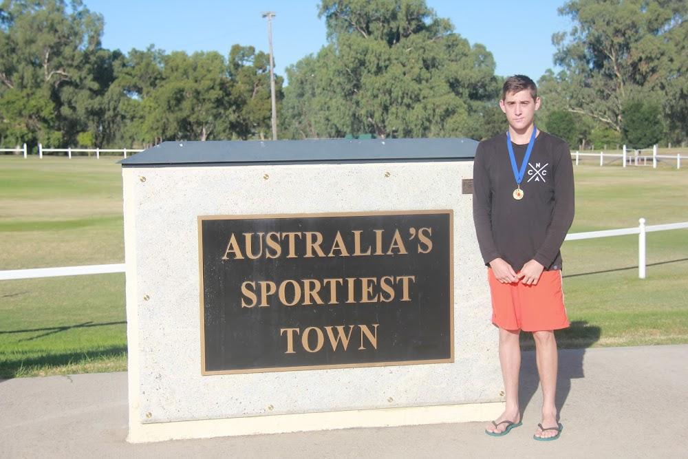 Boxing Australia NSW youth male 60kg gold medalist Shannan Davey.