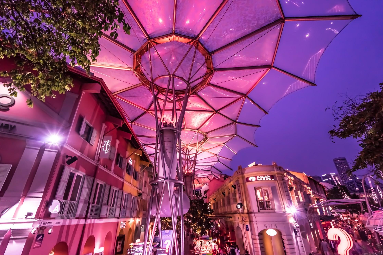 シンガポール クラーク・キー レストラン1
