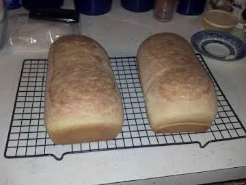 Cool Rise White Bread (Kitchenaid recipe)