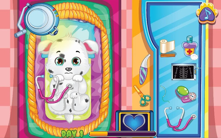 android Pets Clinic - Kids Doctor game Screenshot 3