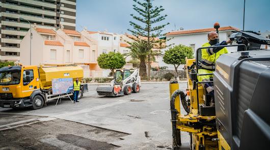 Arranca en Aguadulce el Plan de Asfaltado para 12 calles y un camino