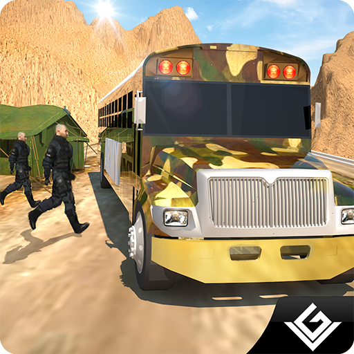 オフロード陸軍バスシミュレータ3D 模擬 App LOGO-硬是要APP