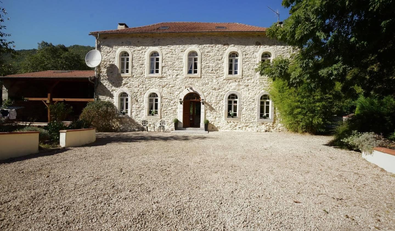 Maison avec piscine et terrasse Barbazan