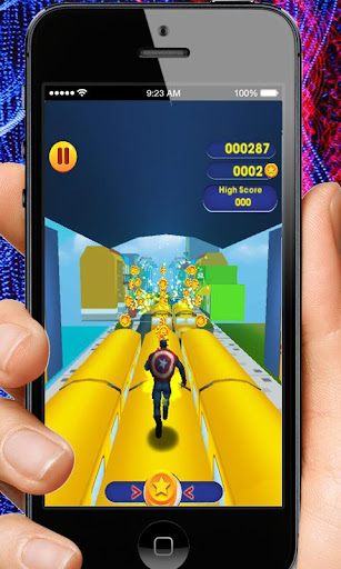 Captain Hero Subway Run Rush 2.0 screenshots 8