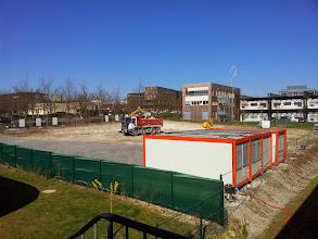 Photo: Début des travaux de construction de notre futur datacenter Hexanet #datacenter #hosting #virtualisation