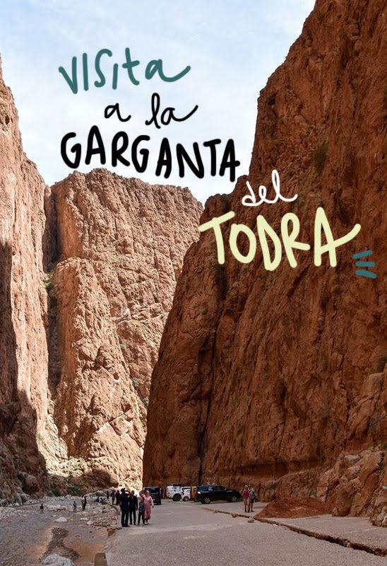 visita a la garganta del Todra