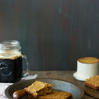 Guinness Beer Bread with Molasses Butter.