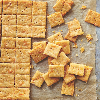 Make These Brown Rice Cheese Crackers