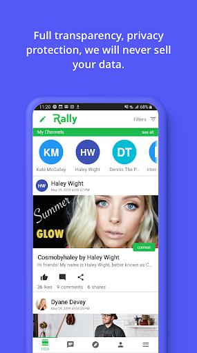 RallyApp screenshots 3