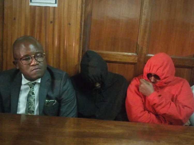 Jared Otieno at a Milimani law court on Friday, May 17, 2019.
