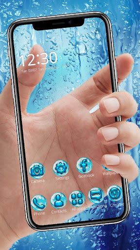 Download Water Drops Themes HD Wallpapers 3D icons 1.0 2